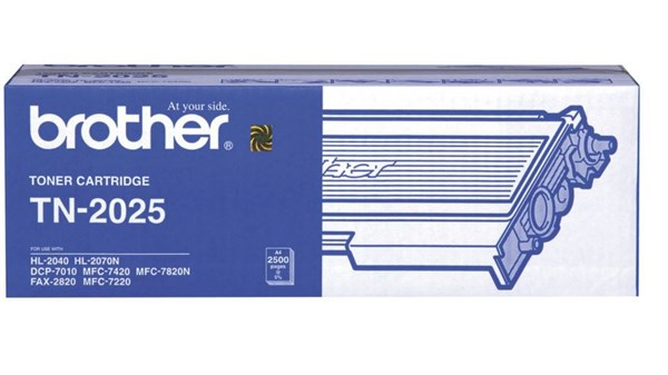 Brother TN-2025/TN-2000/TN-2005 Orjinal Toner (2820-7220-7420-7820-2040-7010)