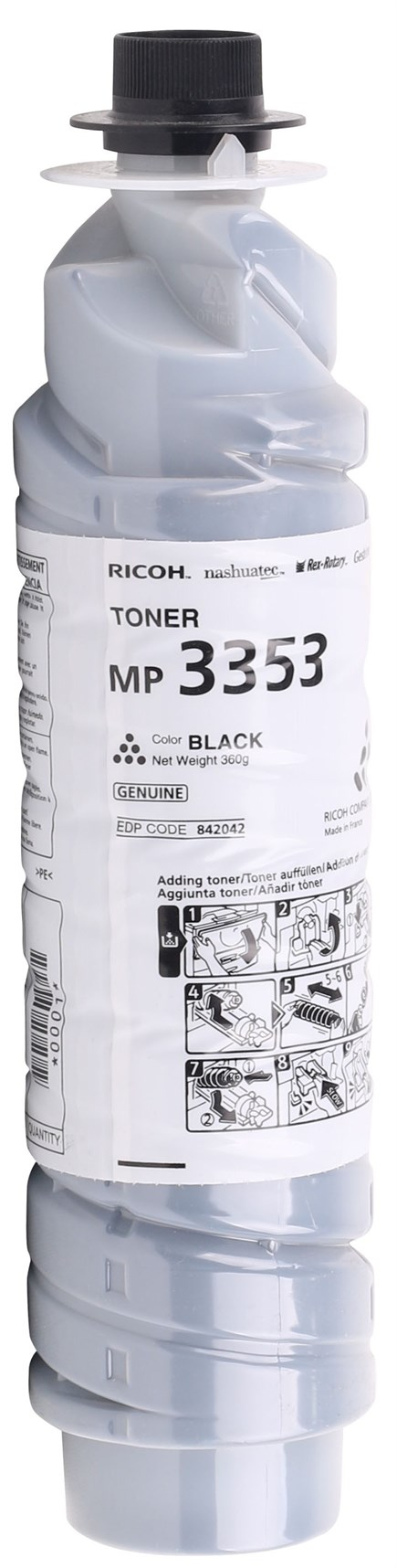 Ricoh MP3352 Orjinal Toner (2220D) MP3353-MP2352-MP2852-MP2853 (842042)