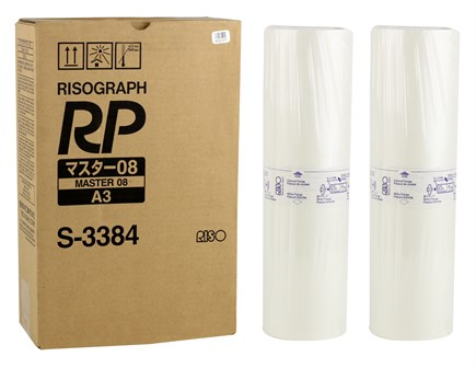 Riso (S-3384) Orjinal A3 Master RP-3100-3105-3500-3505-3590-3700-3790 (Adet)