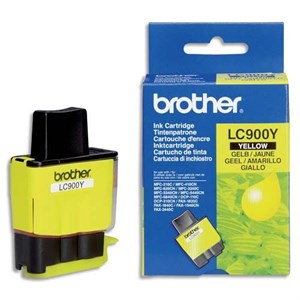 Brother Orjinal Sarı INK LC-47 LC900C DCP-110-215-440 MFC-210-820-5440-5840